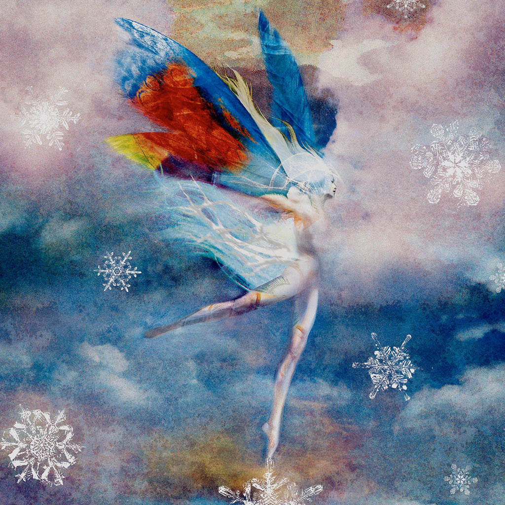 Snow Faerie, Museum Quality Print, Essence: Spring/Winter
