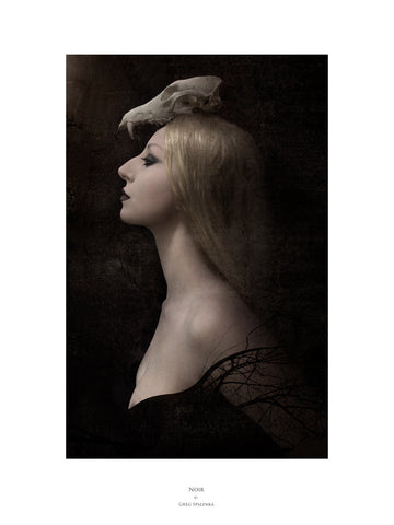 Noir, Museum Quality Print, Essence: Winter