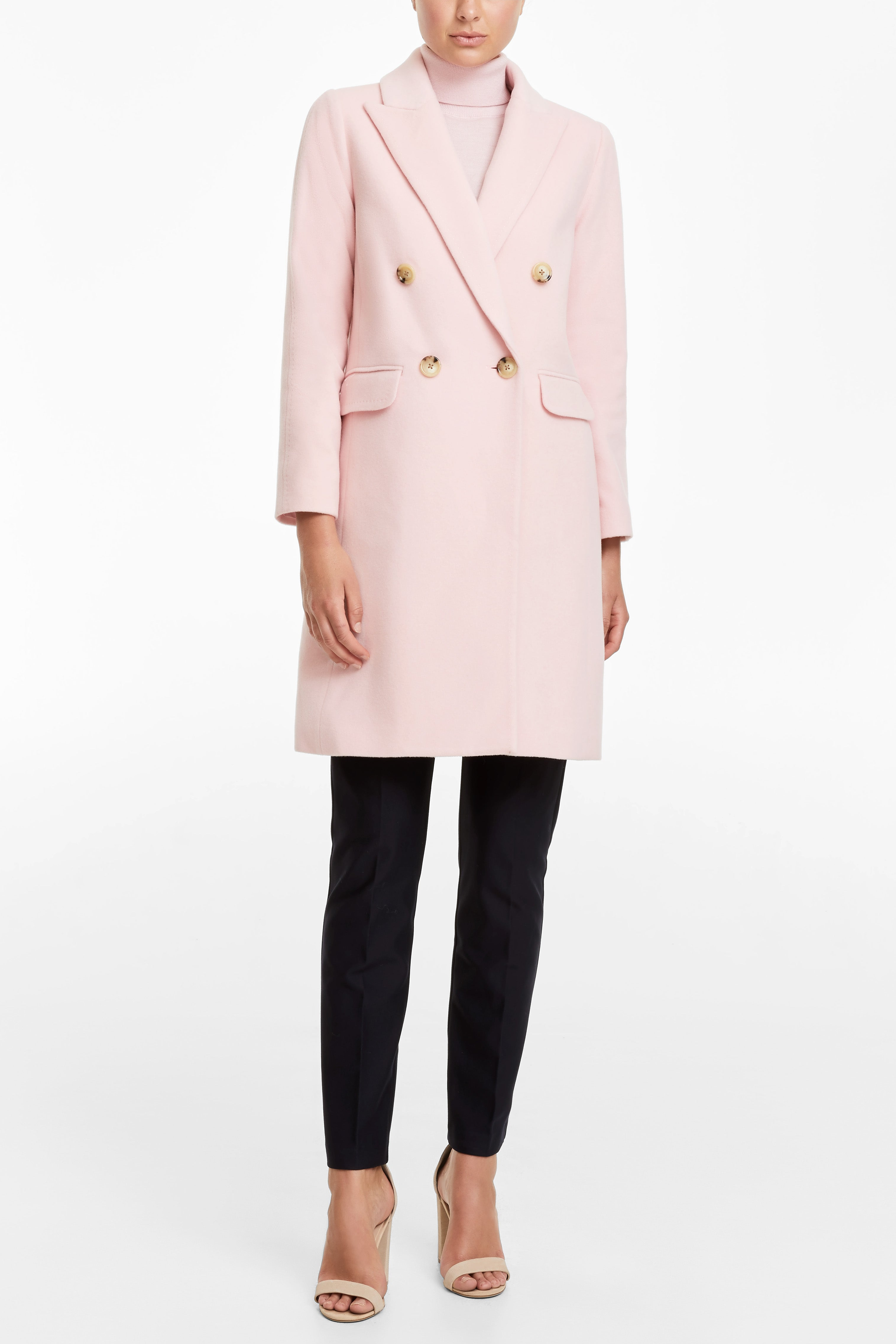 Severine Coat - Pink