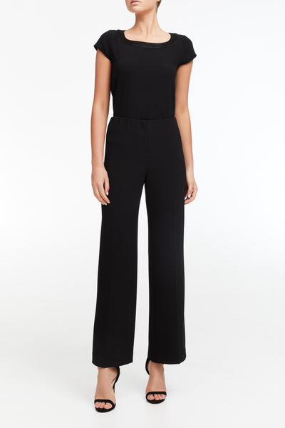 Elastic Evening Pant - Black #900