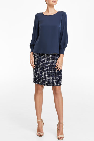 Trudy Top - Navy