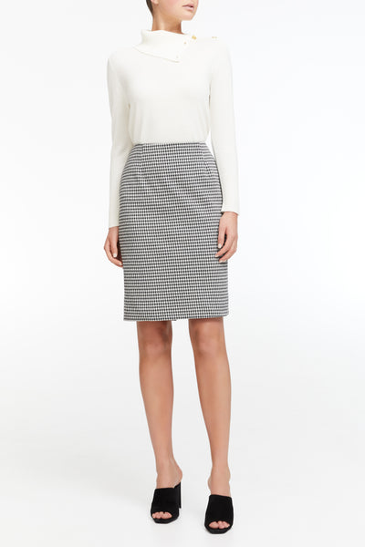 Jade Skirt - Black/White