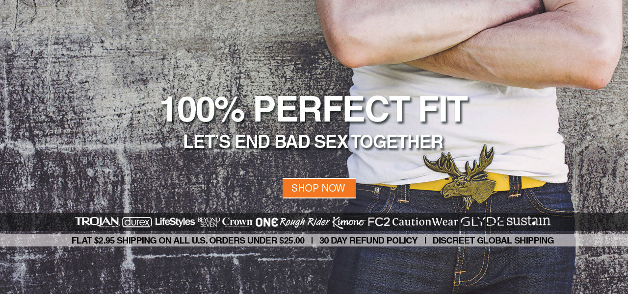 100% Perfect Fit - Let's End Bad Sex Together