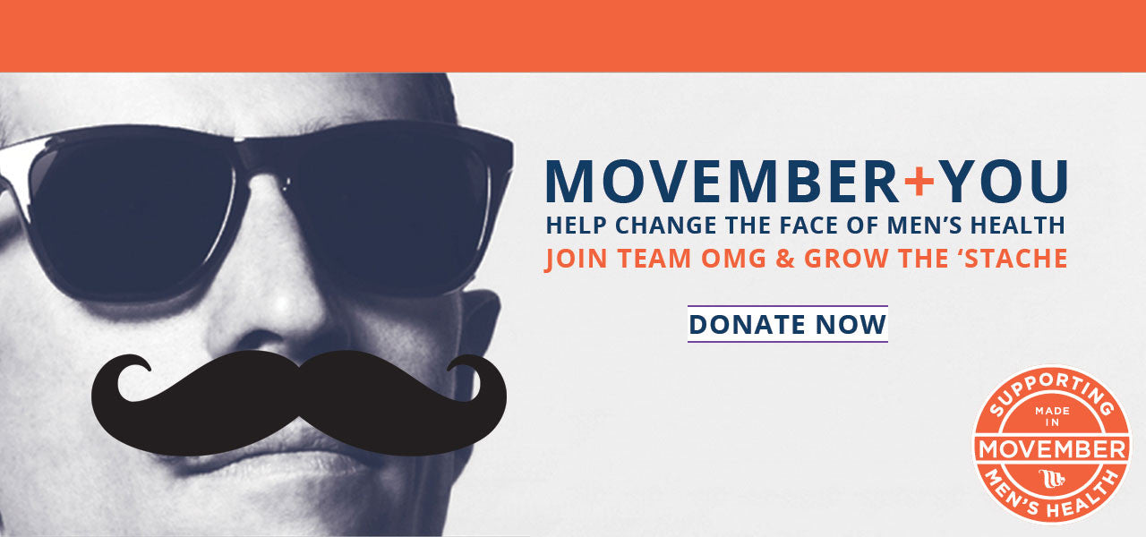 Movember + You : Donate Today