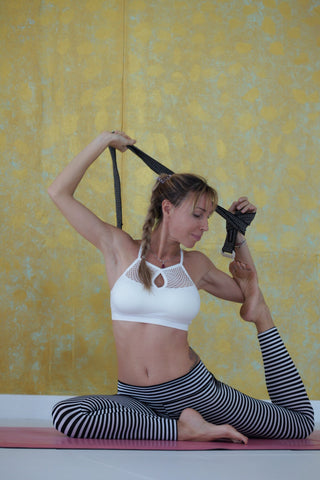 Black Yoga Belt and Mat Carrier presented by Lana Phuket Yoga