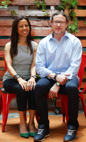 Purnama Co-Founders: Rae and Charles