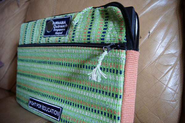Laptop Sleeves - Olive - Purnama Outreach - 1