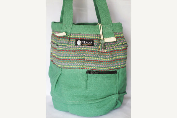 Beach Bag - Cool Green