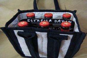 Beer Bag - Nickeldime (fits 6) - Purnama Outreach - 1