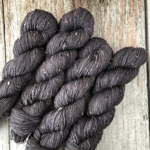 Tumnus Tweed BFL - Grey All Day