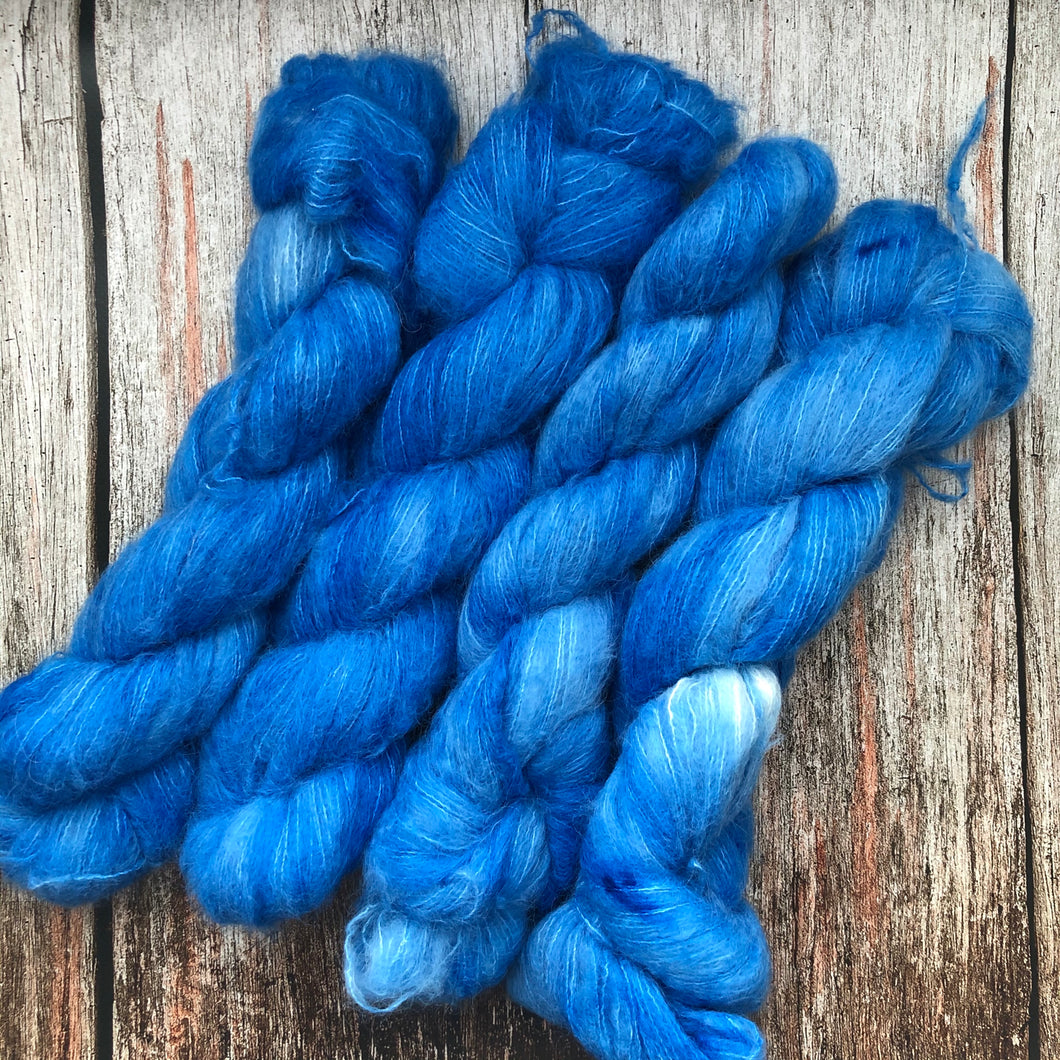 Sea Lane Suri Silk - Charlie's Blue - Hissing Is the New Hello