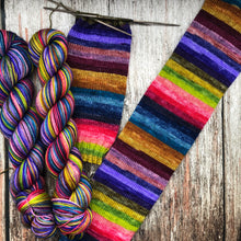 Sojourn Self-Striping Sock - Wanderlust