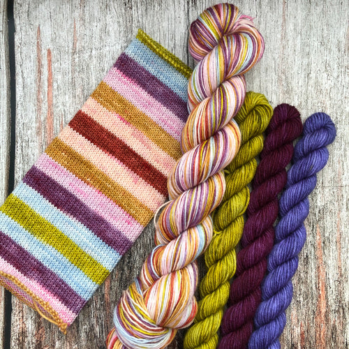 Sojourn Self-Striping Sock 50gm - It's a Dolly World