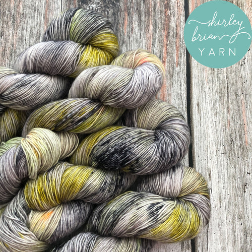 shirley brian yarn Merino Single Sock - Artax