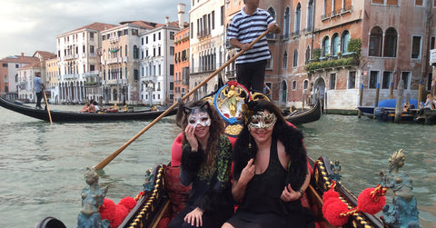 Kaliopi Eleni in Venice promotions her Mystical Conjuring Collection