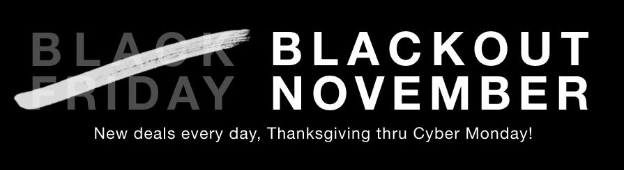 NZXT Blackout November - Thanksgiving Day Deals!