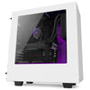 S340 - Matte White + Purple