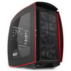 NZXT Refurbished Manta Mini ITX Computer Case Matte Black + Red