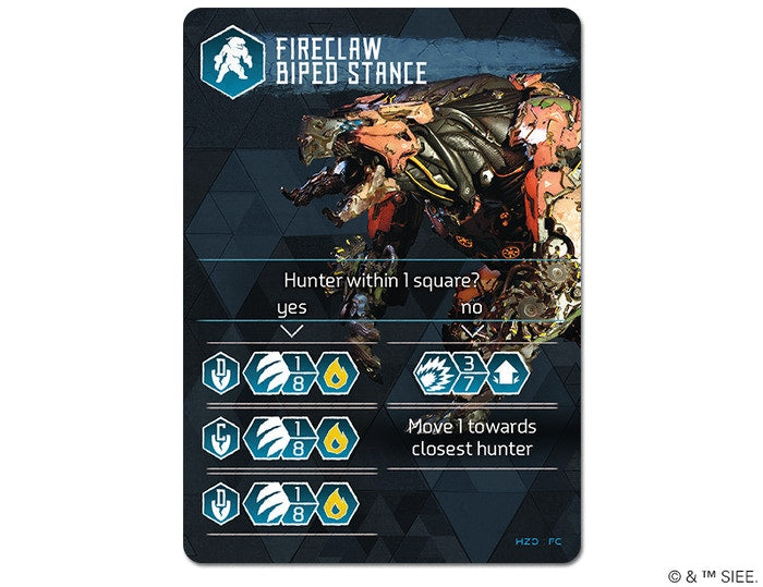 Fireclaw Biped Stance Card