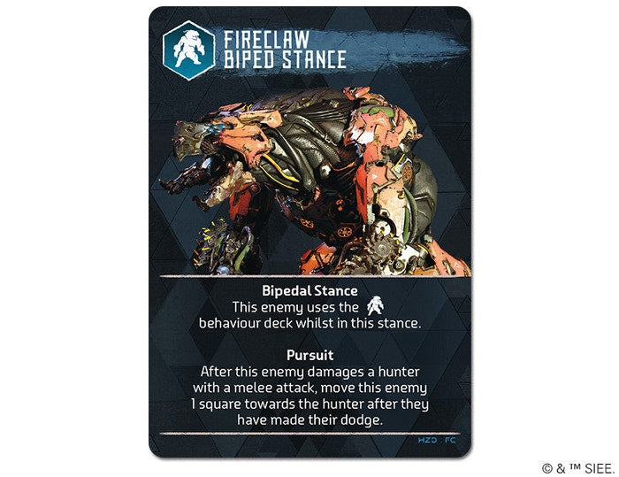Fireclaw Biped Stance Rules