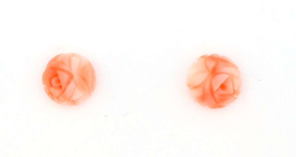 E-131 Pink Coral Earrings