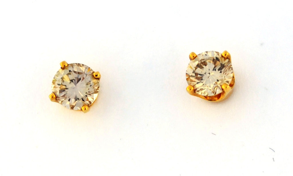 E-135 Diamond Stud Earrings