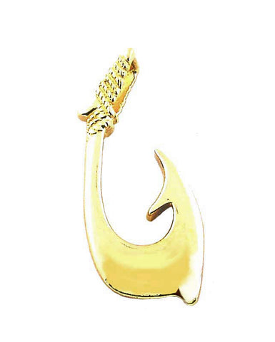 MC-014 Hawaiian Fish Hook Pendant - Large