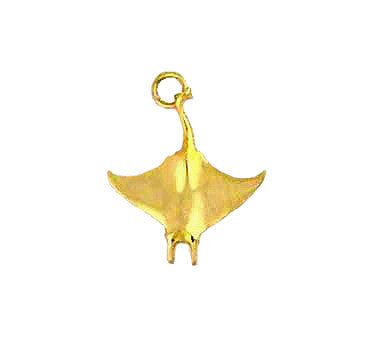 MC-021 Manta Ray Charm/Pendant - Small