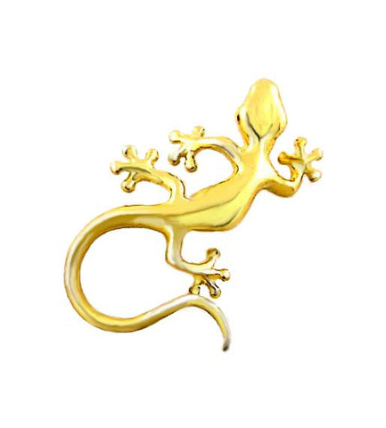 MC-022 Hawaiian Curly Tail Gecko Charm - Small
