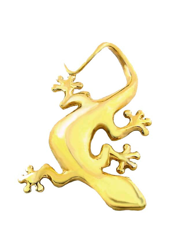 MC-023 Hawaiian Curly Tail Gecko Charm/Pendant - Large