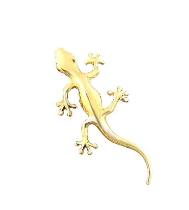 MC-024 Hawaiian Straight Tail Gecko Charm/Pendant - Small