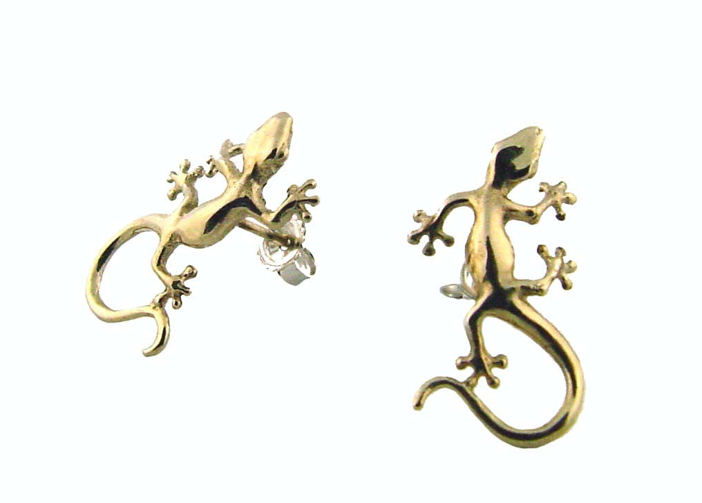 ME-103 Hawaiian Gecko Earrings