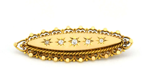 PN-003 Anitque Diamond Brooch