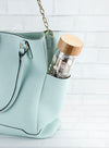 White Leaf Glass Travel Infuser