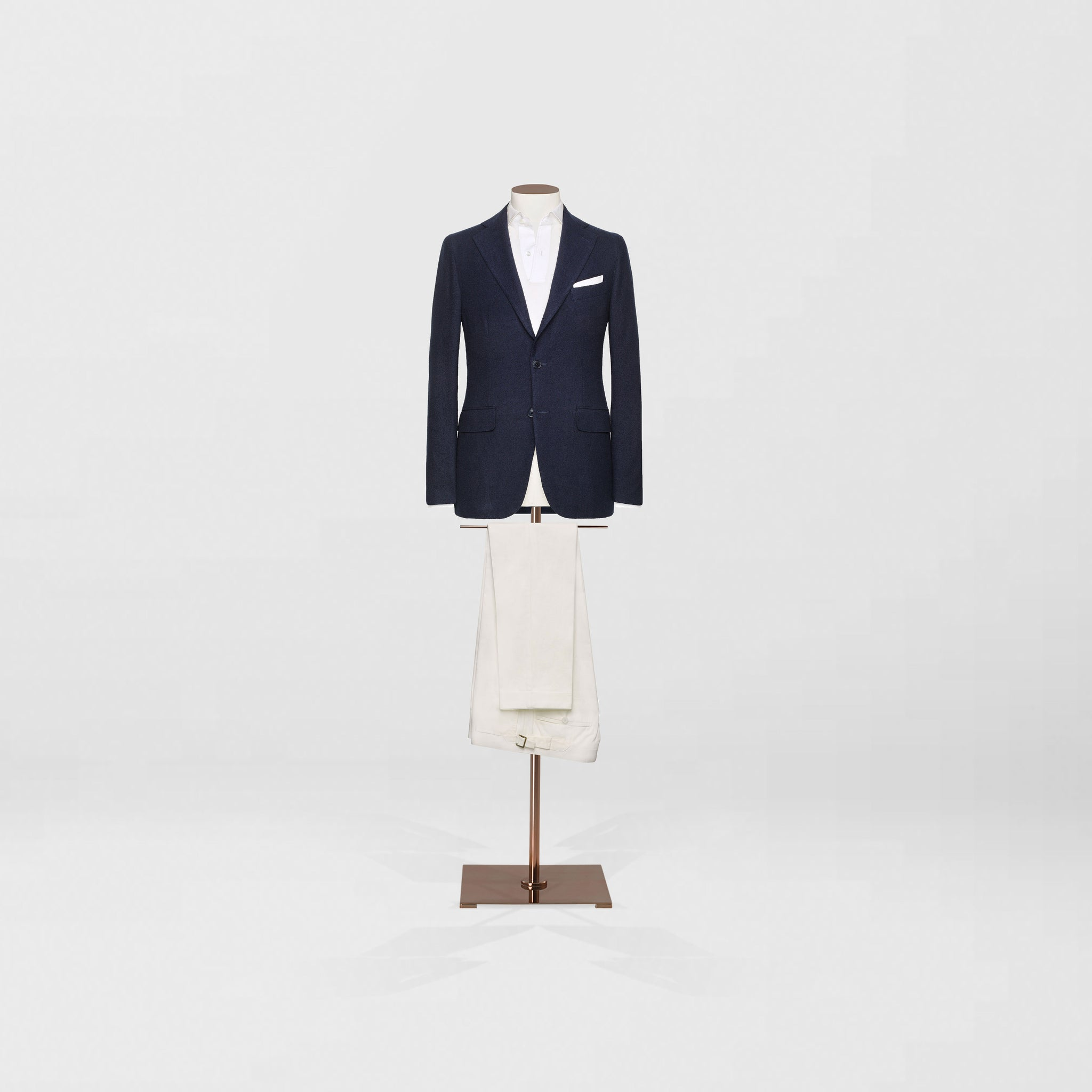 Deconstructed sports jacket & cotton chino trouser - Tailor & Co Sydney.