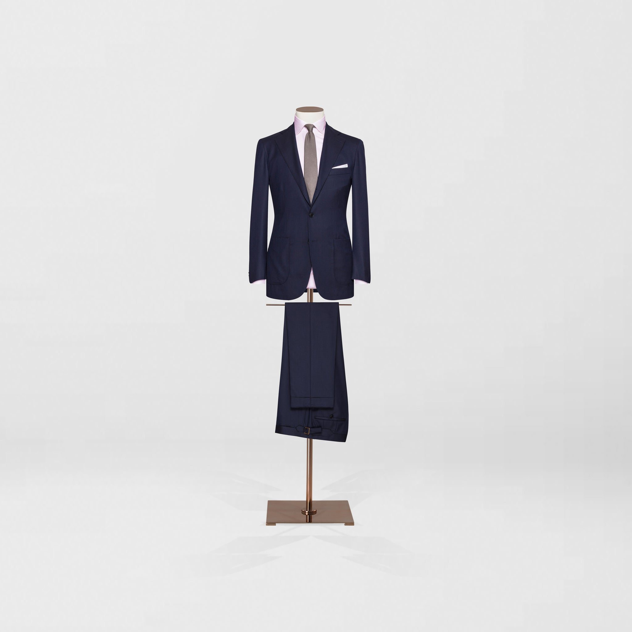 Notch Lapel two piece | Navy S130 - Tailor & Co Sydney.