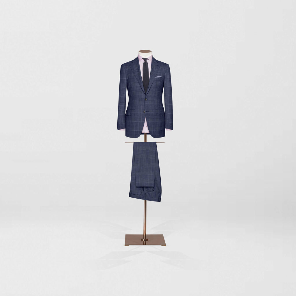 Medium notch lapel two piece | two by three button - Tailor & Co Sydney.