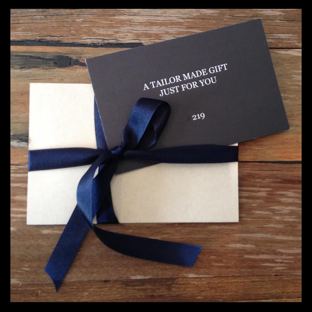 Tailor & Co Gift Voucher - Tailor & Co Sydney.