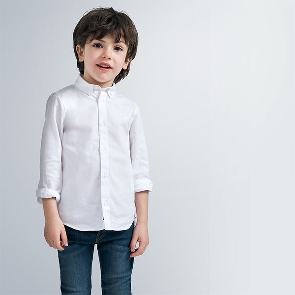 AW20 Mayoral Boys White Shirt 146
