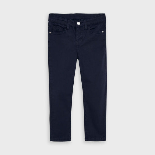 AW20 Mayoral Boys Navy Blue Chino Trousers 517