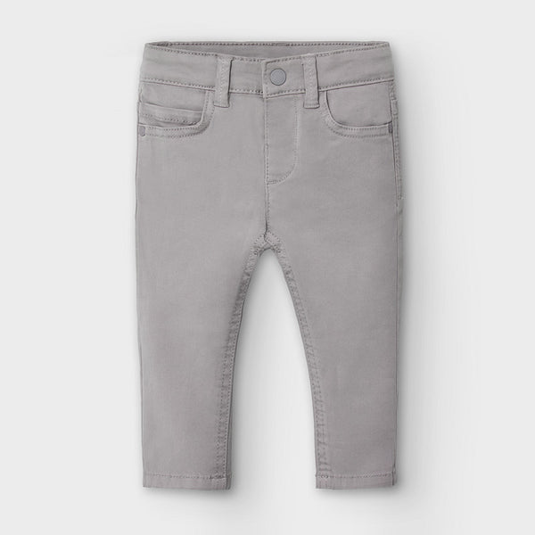AW20 Mayoral Toddler Boys Grey Chinos 563