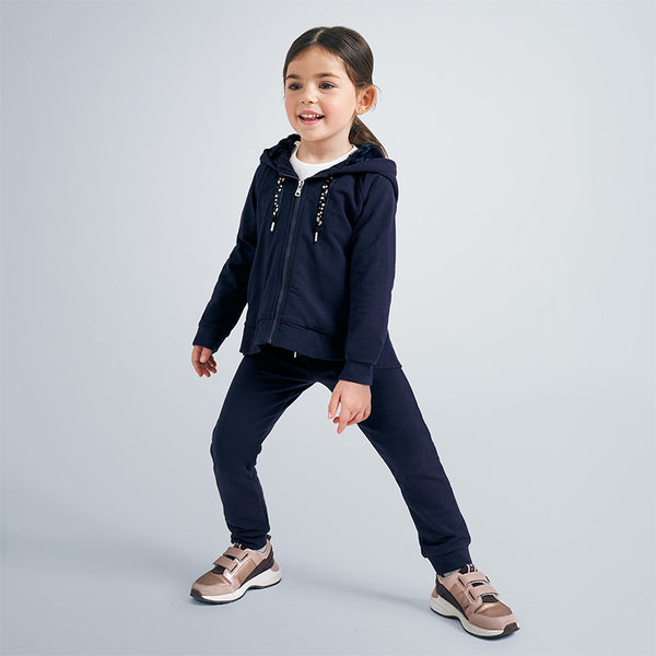 AW20 Mayoral Girls Navy Blue Tracksuit 4823