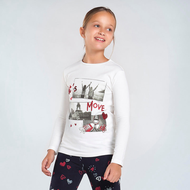 AW20 Mayoral Older Girls 'Let's Move' Top 7080