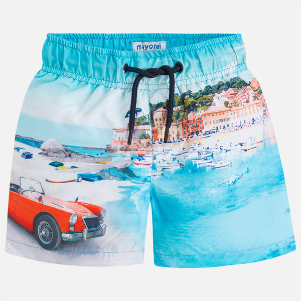 SS18 Mayoral Boys Multi-coloured Swim Shorts 3626