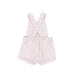 SS21 Tutto Piccolo Girls Pink & White Stripe Romper 1423 & 1622