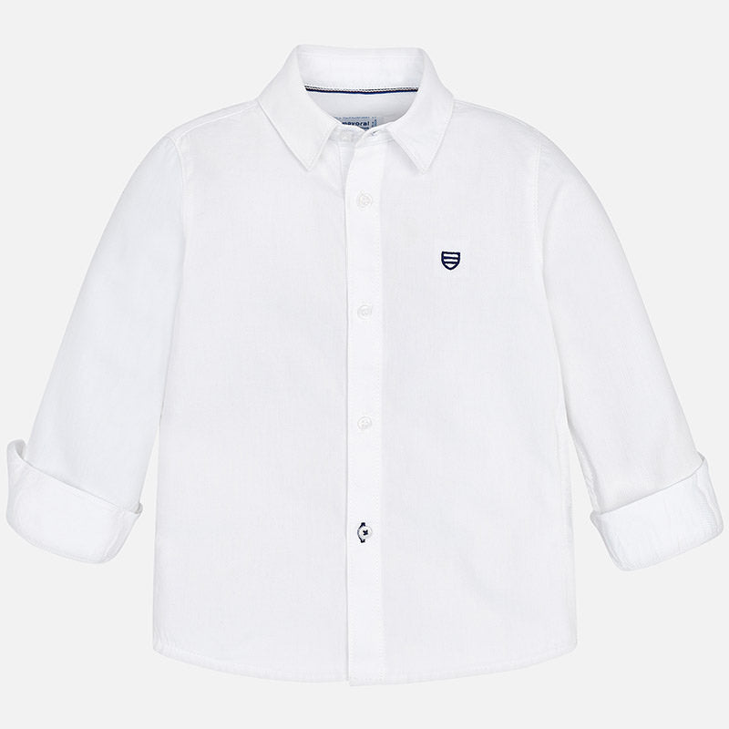 AW18 Mayoral Boys White Shirt 146
