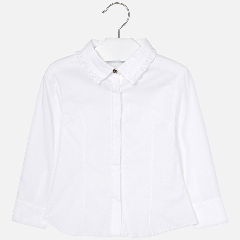 AW18 Mayoral Girls White Blouse 4120