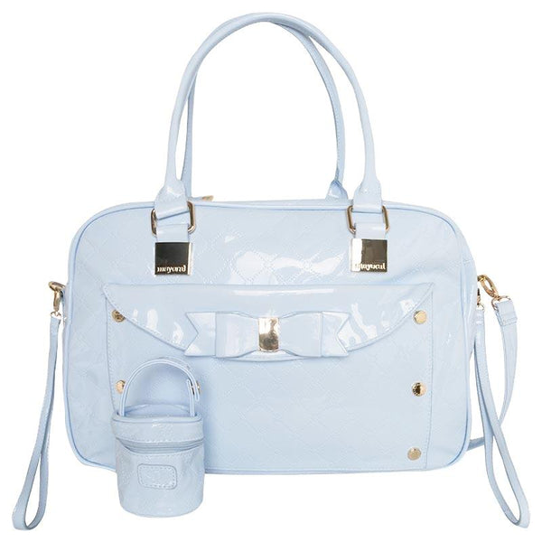 Mayoral Baby Bag and Dummy Holder - Baby Blue 19057 - Liquorice Kids