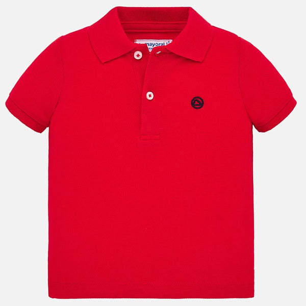 SS20 Mayoral Toddler Boys Red Polo Top 102