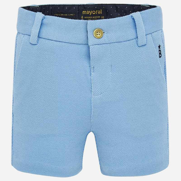 SS20 Mayoral Toddler Boys Sky Blue Shorts 1280